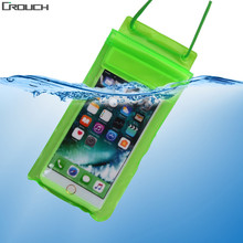 Universal Phone Bags Pouch Strap Waterproof Case Cover For iPhone 6 6s 7 Plus 5S SE For Samsung Galaxy S6 S7 Edge Plus S8 Pouch(China)