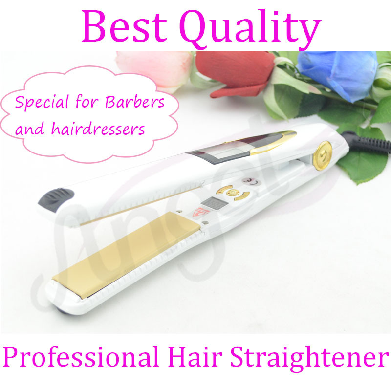 1-2 Minutes Electric Vibrating Straightening Iron Folder Double Significant Temperature Girls Hair Styling Machine Ceramic Plate<br>