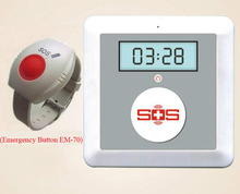 SMS GSM Senior Elderly Guarder System Emergency Call, SOS Panic Button K4(China)