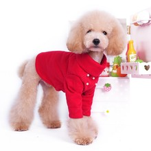 New Style Plain Colors Puppy Dogs Warm High Collar Shirt Pets Pullover Cotton Clothes Pearl Bottoming High Collar Shirt(China)