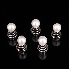 20 PCS Silver Mini Pearl Wedding Bridal Swirl Spiral Hair Pins Twists Coils Hairpins Bridesmaid Hair Jewelry Accessories
