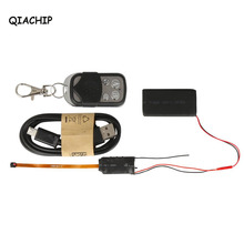 QIACHIP Mini Camera Full HD 1080P Camcorder DV DVR Motion Detection Video Recorder With 2.4G RF Remote Control DIY Camera Kit