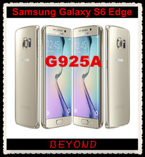 "Samsung Galaxy S6 edge Original Unlocked 4G LTE GSM Android Mobile Phone G925A AT&T Version Octa Core 5.1"" 16MP RAM 3GB ROM 32GB(China)"