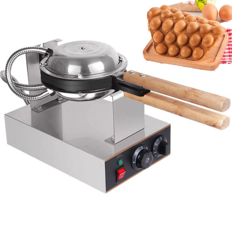 Professional-Commercial-Electric-egg-bubble-waffle-maker-machine-eggettes-puff-cake-iron-maker-machine-bubble-egg