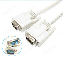 1.5M 9 Pin To 15 pin VGA To Serial Port Cable VGA To 232 Cable