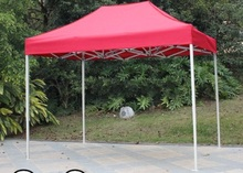 DANCHEL Gazeble sliver steel frame Folding Tent size 2x2 2x3 3x3 3x4.5 3x6 color blue and red