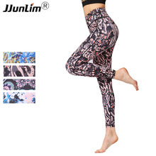 Buy Women Yoga Legging Elastic Printed Yoga Pant Sportswear gym Sports Tight Fitness Pants Slim Running Leggings Sport Trousers Lady for $15.94 in AliExpress store