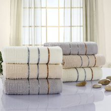 Luxury Striped Home Hotel Hair Hand Face Towel On Sale Multi Color High Absorbent Egyptian Cotton Towels For Adults Guest