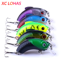 5.5cm 9g Sea Monster Fishing Lures Minnow Lure Crankbait 3d Fish Eye Artificial Lure Swim Bait  CB019