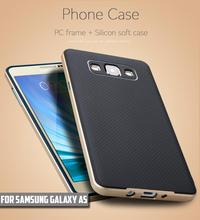 For Samsung Galaxy A5 Case New High Quality Silicon Case PC Frame + TPU Material Back Cover Case for Galaxy A5 2015 A5000(China)