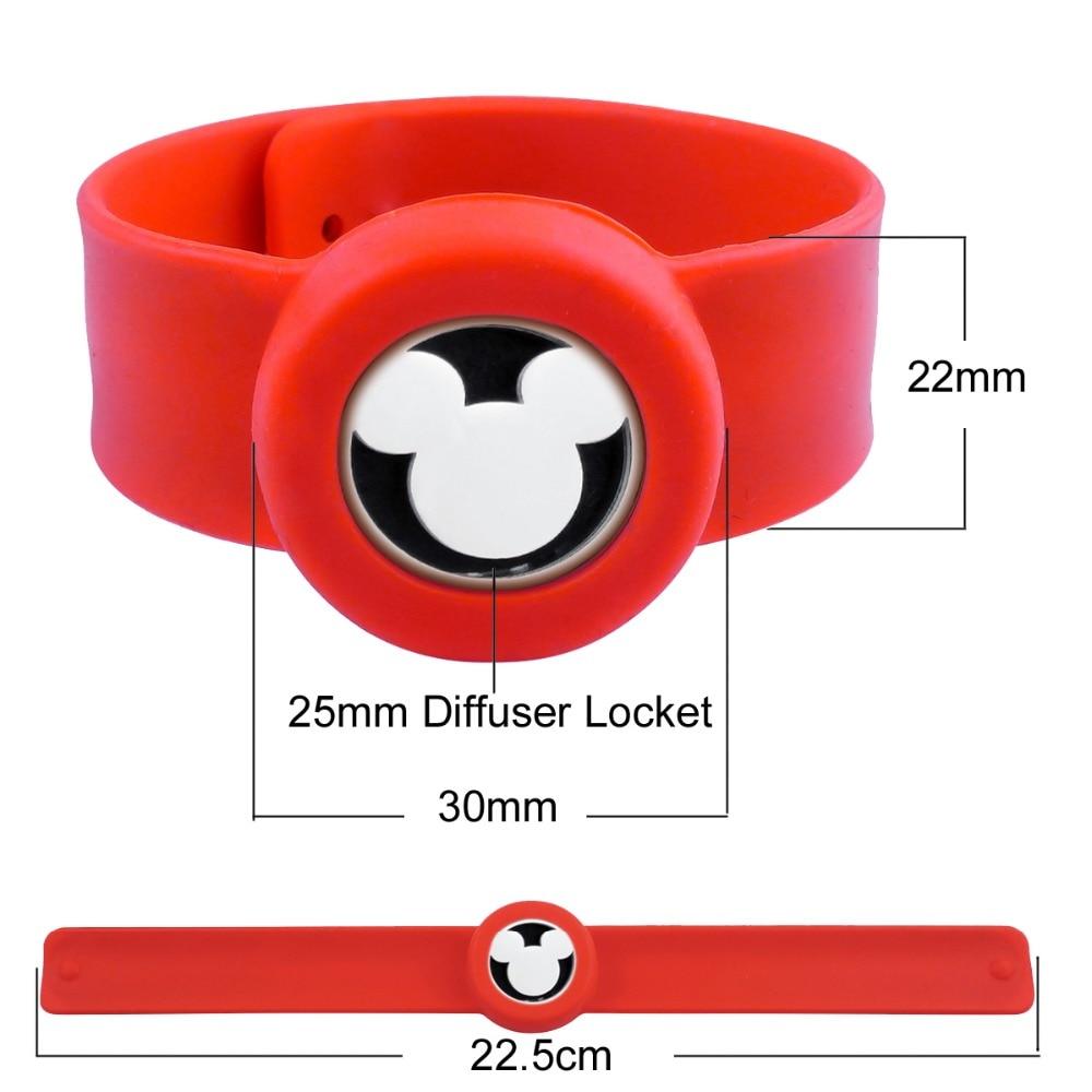 ZP-BS510-0 Silicone Diffuser Locket Bracelet-5