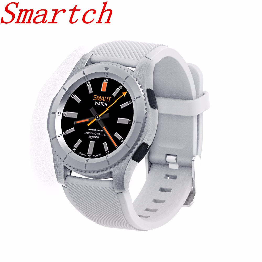 EnohpLX In Stock No.1 G8 Smartwatchs Bluetooth 4.0 SIM Card Call Message Reminder Heart Rate Monitor Smart watch Android