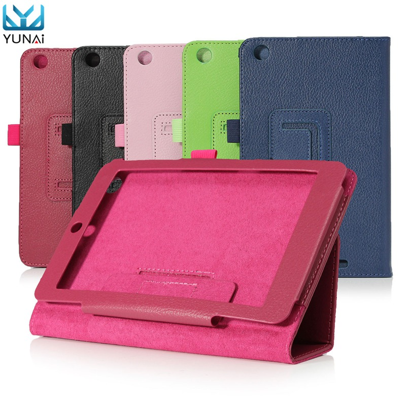 YUNAI New For Acer Iconia One 7 B1-730 Tab 10 A3-A20 Smart Case Cover PU Folding Cover Case Triangle Stand New 7/10inch Case<br><br>Aliexpress