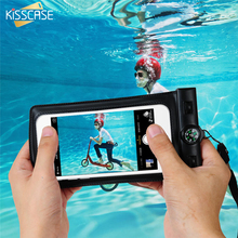 KISSCASE 100% Waterproof Case For Samsung S7 S6 Edge A5 A3 A7 J5 J7 S5 Prime Grand Universal Smart Tough Cover For iPhone Cases(China)