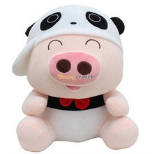 Fancytrader New Style Mcdull Pig Top Sales 36'' 90cm Giant Plush Stuffed Mcdull Pig, 4 Colors Available! Free Shipping FT90466
