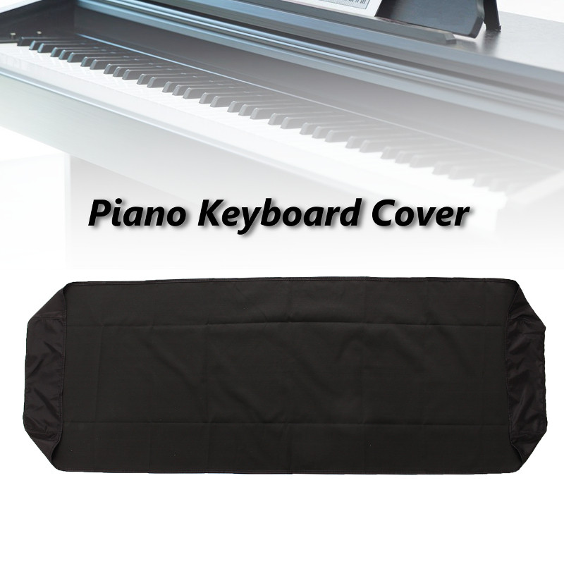 Black Piano Dustproof Lamination Cloth Piano Keyboard Dust Sheet Cleaning Cloth For 88-Key Electronic Piano Cover(China (Mainland))