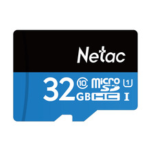 Netac P500 32GB Micro SD Card U1 Class10 Flash Memory Card Micro SDHC Ultra High Speed UHS-I TF Cards with retail packaging