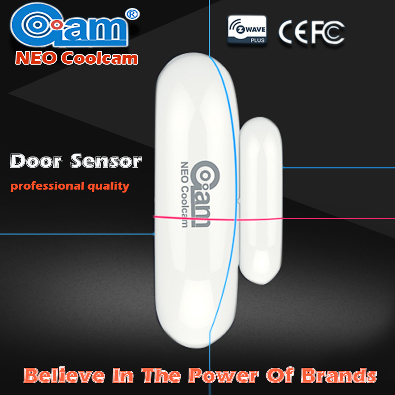 NEO Coolcam Z-wave Wireless Door/Window Sensor Compatible System Smart With Z-wave 300 Series And 500 Series Home Automation <br>