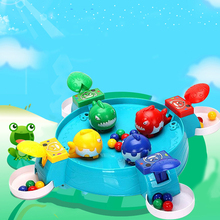 Caribe Play With Bead Toys Desk Game Ocean Crab Fish Game Gifts For Kids