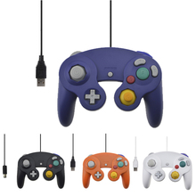 Wired USB Controller For NGC Gamecube Console Laptop Computer For Nintend NGC Gamepad Controle PC GC Handheld Joystick