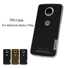 Nillkin For Motorola Moto Z Play Ultra Thin Slim Cover Hight Quality Soft TPU Back Case For Motorola Moto Z Play(China)