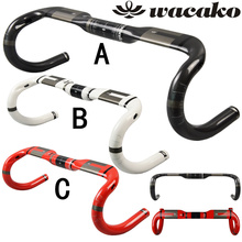 wacako cheap full carbon road handlebar cycling Accessories bicicleta handle bontrager used bicycles bicycle parts