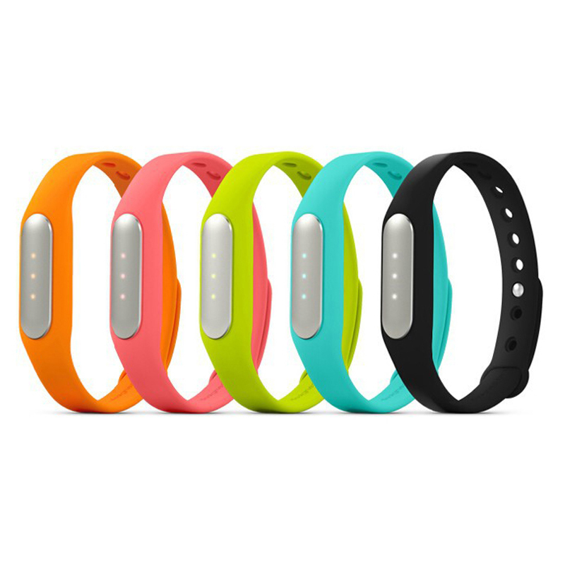 100% Original Xiaomi Mi Band Bluetooth Smart Bracelet With Sleep Monitor Pedometer Calorie Healthy Xiaomi Wristbands(China)