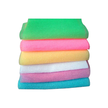 New Arrival Nylon Scrubbing Cloth Towel Bath Shower Body Cleaning Washing Sponges Scrubbers Bathroom Tool