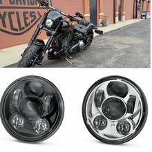 "Harley Motorcycle 5 3/4 "" Harley Headlight 5.75 "" Harley-David Daymaker LED Headlamp For Harley Softail Dyna Sportster Models"