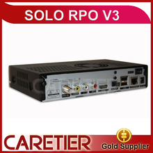1PC SOLO PRO V3 DVB-S2 HD Linux Enigma2 BCM 7358 751MHz MIPS Digital Satellite Receiver Support Blackhole Openpli Openvix S2