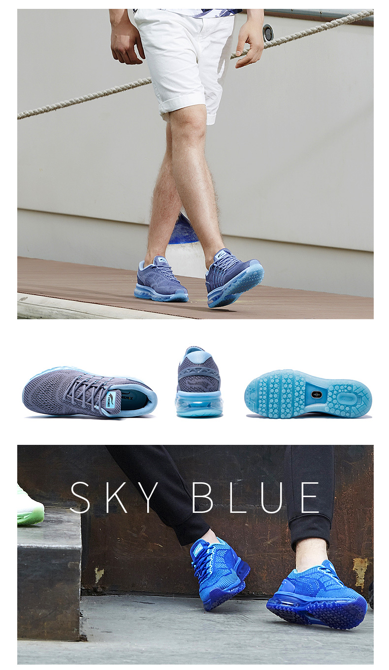 17 Air Cushion Running Shoes Breathable Massage Sneakers Man Jogging Sport Sneakers for Outdoor Walking Shoe Run Comfortable 12