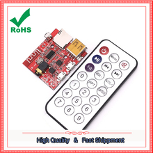 Bluetooth MP3 decoding module audio receiver board lossless car speaker amplifier modified Bluetooth 4.1 circuit board module