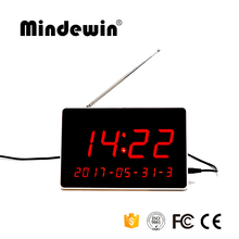 New 2017 Mindewin LED Display Receiver Restaurant Guest Paging System Table Display Wireless Electronic Number Service Display