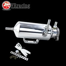 VR RACING - New Aluminum Breather catch tank Overflow Tank Type for Track or Drift Car For Honda Toyota BMW Nissan VR-TK03