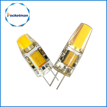 G4 COB 12V COB LED Bulbs 3W 6W AC12V LED G4 COB lamp Replace for Crystal LED Light Bulb Spotlight Warm Cold White(China)