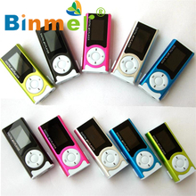 Shiny Mini USB Clip LCD Screen MP3 Media Player Support 16GB Micro SD_KXL0530