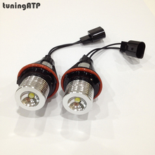 6W Angel Eyes LED Marker for BMW E39 E60 E61 E63 E64 E65 E66 E87 X3 E83 X5 E53 *Optional at White / Blue / Red Light*(China)