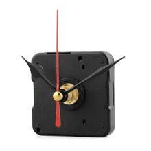 Hot sale Red Stitch Silent Movement Quartz Clock Movement Mechanism DIY Tool Kit without Hook