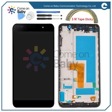 For Huawei Honor 6 H60-L02 H60-L12 H60-L04 Single Sim / Dual Sim card Lcd Display+Touch Glass quality Digitizer+frame Assembly