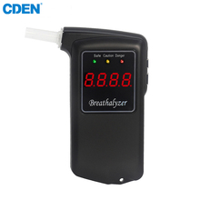 2018 New Patent High Accuracy Prefessional Digital Breath Alcohol Tester Breathalyzer LCD Display Alkotester With Mouthpieces(China)
