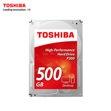 "Toshiba SATA III 3.5"" 500GB HDWD105AZSTA 500G desktop hard 64M P300 Boxed 3.5-inch internal Hard Drive(China)"