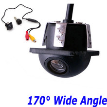 170 Degree Night Vision Waterproof HD Small Straw Car Rear View  Viewing Camera Reverse Backup CMOS Parking Assistance