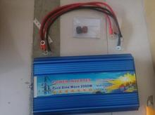 Peak power 4000w inverter pure sine wave DC 12V to AC 110V/220V~240V 50hz or 60hz pure sine wave inverter 2000w continues