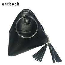 Mini Triangular Tassel Pyramid Lady Clutch Bag Small Top-handle Handbag Chain Messenger Bag Clutches and Purses Elegant Tote Bag