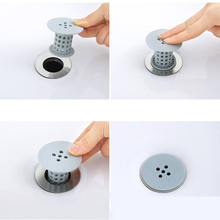 Silica Bath Catcher Tub Hair Collector Pool Cleaning Strainer Hair Draining Bath Blocking Gel Collector Sink To Prevent Leakage