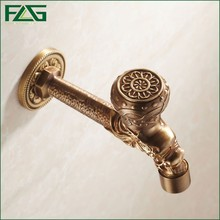 FLG Cross handle antique bronze tap bibcock washing machine outdoor faucet for Garden B13