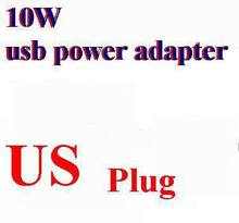 50pcs/lot*2.1A 10W US Plug USB Power AC Adapter Wall charger For New iPad-Mini fpr ipad 4 3 2(China)