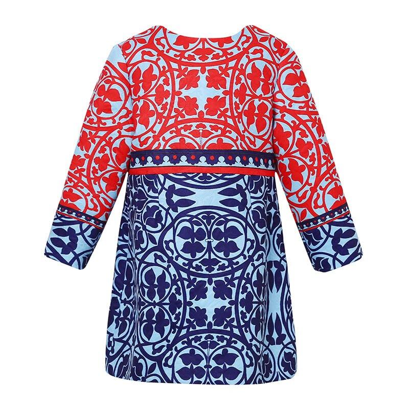 Princess Dress Girls Clothes 2016 Winter Brand Girls Christmas Dress Children  Print Long Sleeve Girl Dresses Kids 12<br>
