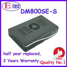 DHL Free Shipping DM800se 400mhz CPU Satellite Receiver dm800 hd se Bootloader84 SIM2.10 BCM4505 Tuner at stock