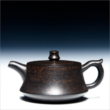 215cc Yixing Teapot Authentic Purple Clay Master Handmade China Health Care Kung Fu Tea Set Zisha Black Tea Puer Zhu Chu Pot New(China)